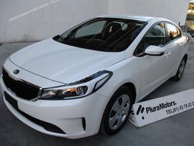 Kia Forte 2018 L Std Electrico Clima Frenos Abs $199,000