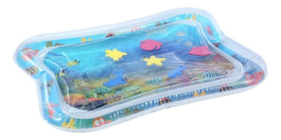 Baby Inflatable Water Mat Infant Tummy Time Playmat Toddler