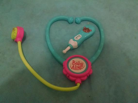 Estetoscopio E Termômetro Baby Alive
