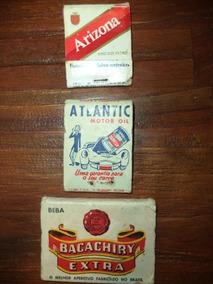 Lote De 3 Caixas De Fósforo Antigas/coleções