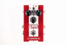 Pedal De Distorcao Overdrive Fire Custom Shop - Nota Fiscal