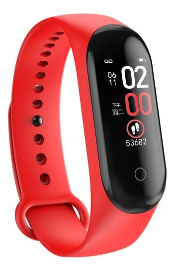Relógio Smart Watch Bakeey M4 Inteligente Medidor Cardio