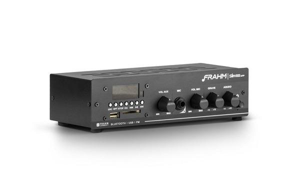 Amplificador Receiver Som Ambiente Frahm Slim 1000 App G2