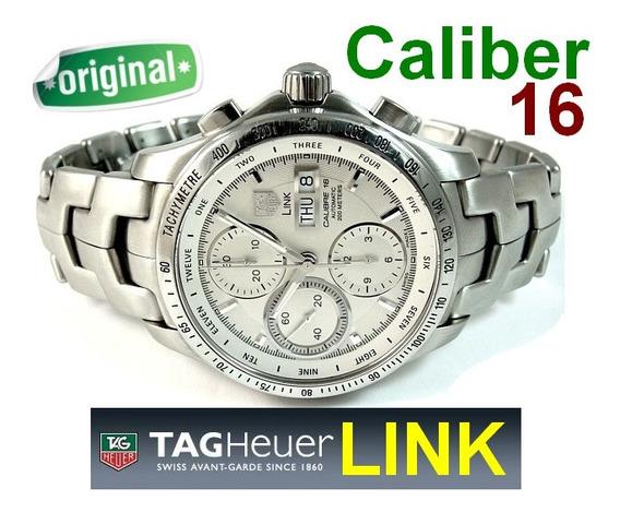Belo Tag Heuer Link Cronograph Autmomático Calibre 16 !