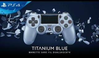Joystick Ps4 Original Nuevo Temperley Yitanium Blue