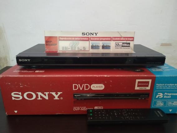 Sony Reproductor De Cd/dvd | Dvp-ns508p Con Control Remoto