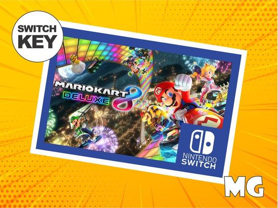 Mario Kart 8 Deluxe - Jogo Nintendo Switch Digital