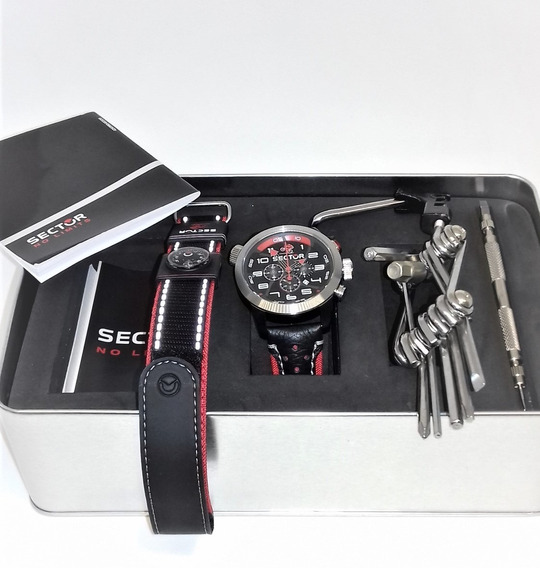 Relógio Sector Oversize Masculino Cronógrafo - Ws31768v