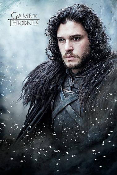 Poster Importado De La Serie Game Of Thrones - Jon Snow