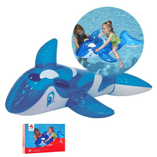 Inflable Pileta Ballena Orca Infantil Niños Piscina Verano