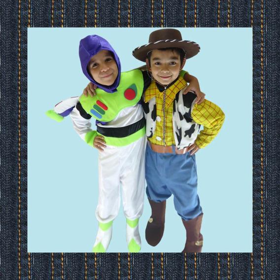 Disfraz Woody Toys Story Y Buzz. Niño, Fiesta Tematica