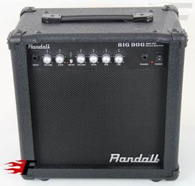 Cubo Amplificador Randall Para Guitarra 25w - 220v