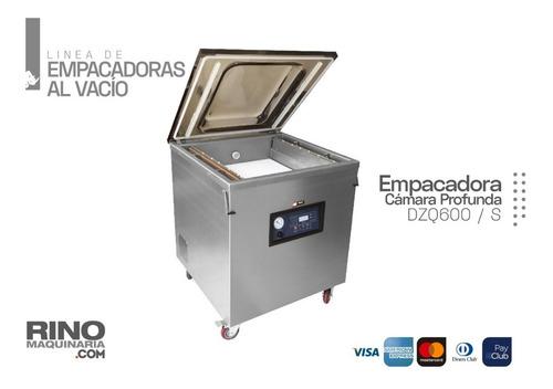 Maquina Empacadora Selladora Al Vacío De Cámara Profunda