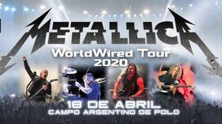 Metallica 2020 Entrada Campo- App Quentro