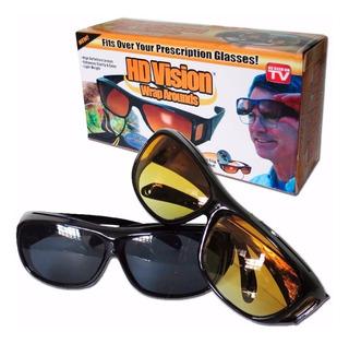 Combo Gafas Hd Vision Para Día + Gafas Hd Vision Para Noche