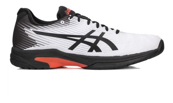 Tenis Asics Solution Speed Ff All Court Branco E Preto