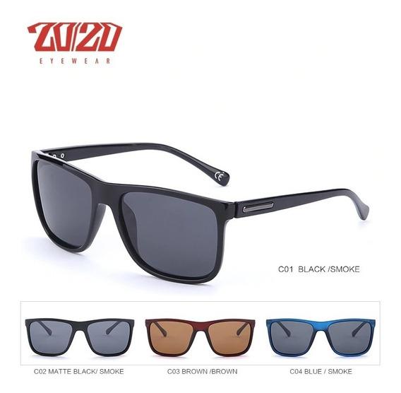 Óculos De Sol Masculino Polarizado Uv400 Luxo Frete Grátis