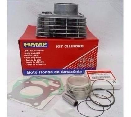 Kit Cilindro Motor Hamp Titan150 Fan Nxr Bros Original Honda