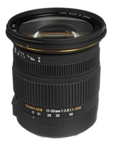 Imagem 1 de 8 de Lente Sigma 17-50mm F/2.8 Ex Dc Os Hsm Para Canon