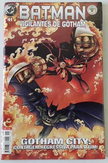 Gibi Batman - Vigilantes De Gotham Nº 41 /abril