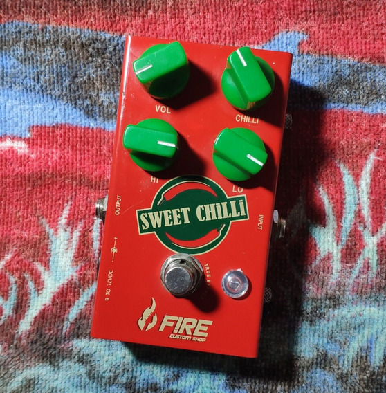 Fire Custom Shop Sweet Chilli Overdrive - Willaudio