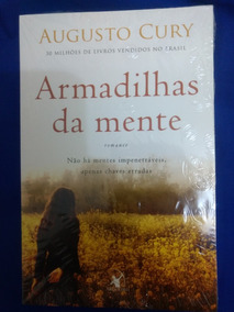 Livro Armadilhas Da Mente/augusto Cury/novo/lacrado
