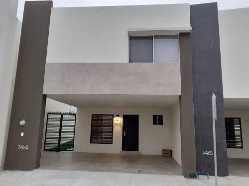 Casa En Renta En Escobedo Anahuac San Patricio Amueblada