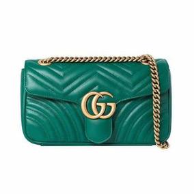 Bolsa Gucci Marmont Verde - Importada Pronta Entrega