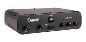 Amplificador Compacto Para Som Ambiente Nca Ab 100 100 Wrms