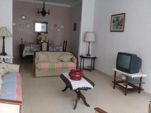 Apartamento Para Alugar, 100 M² Por R$ 3.000,00/mês - Boqueirão - Santos/sp - Ap4488