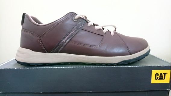 Zapatillas Cat Footwear Color Marrón
