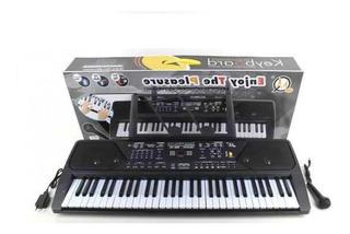 Organo Teclado 61 Teclas Mp3 / Radio/ Mic / Transformador
