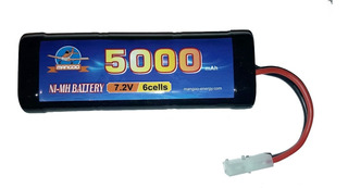 Batería Ni-mh Niquel Metal 7.2v 5000mah Auto Rc Radiocontrol