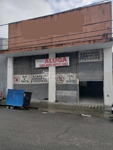 Imagem 1 de 18 de Galpão, Vila Nova, Santos, Cod: 1808 - A1808