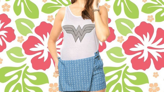 Remera Wonder Woman Muaa