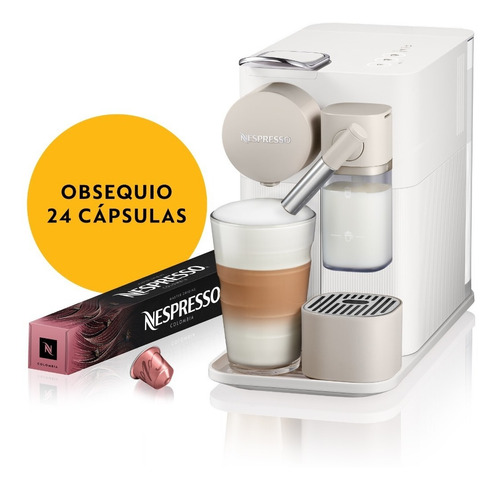 Máquina De Café Nespresso Lattissima One Blanca