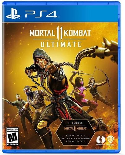 Imagen 1 de 3 de Mortal Kombat 11 Ultimate Ps4 Juego Fisico Sellado Cd