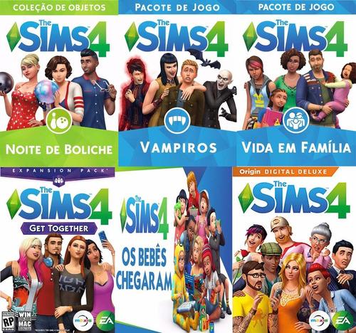 Game The Sims 4 Para Pc Base Com Todas Dlc´s 2019