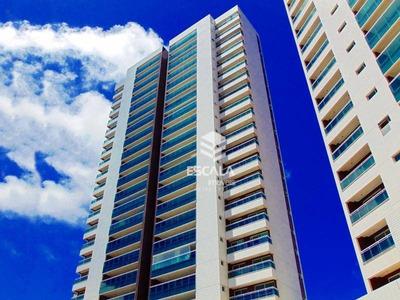 Apartamento Com 4 Quartos À Venda, 165 M², Novo, Área De Lazer, 3 Vagas, Financia - Papicu - Fortaleza/ce - Ap0826
