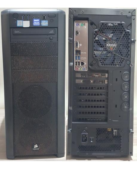 Computador Pc Gamer Intel I7 6700 8gb Ddr4 Rx580 8gb Ssd 240