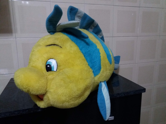 Linguado De A Pequena Sereia Original Disney 50 Cm