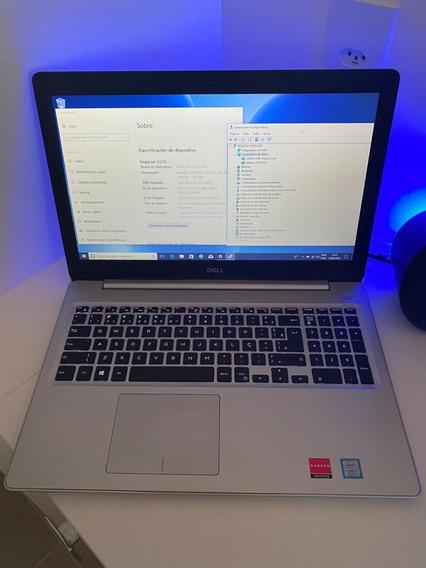 Dell Inspiron I15 5570 I7 8ª 8gb 1t - 4gb Amd - Como Novo