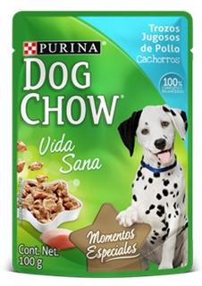 Dogchow Wet Cachorro Pollo 100 Grs Caja X 15. Envios