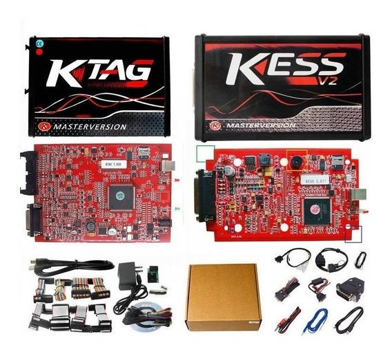 Kit Kess V2.47 V5.017 + Ktag K-tag V2.23 7.020 Português