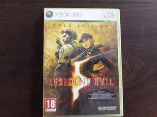Resident Evil 5 Gold Edition Xbox 360 Pal ( Leer Bien )