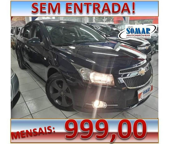 Chevrolet Cruze 1.8 Lt 16v Flex 4p Manual Sem Entrada