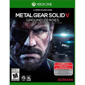 Jogo Metal Gear Solid 5 Groud Zeroes Midia Fisica
