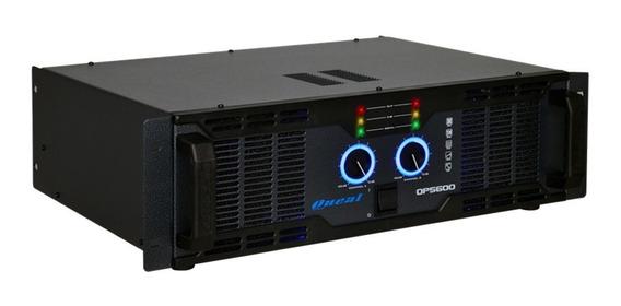 Amplificador Potência Oneal Op 5600 500w Rms 4 Ohms Bivolt