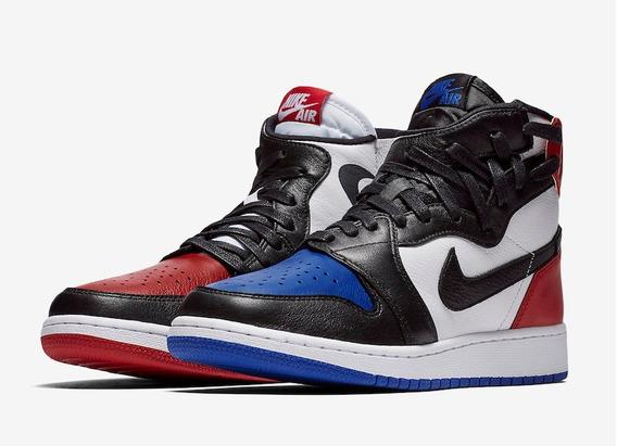 Zapatilla Nike Air Jordan 1 Azul Hombres Ropa y Accesorios