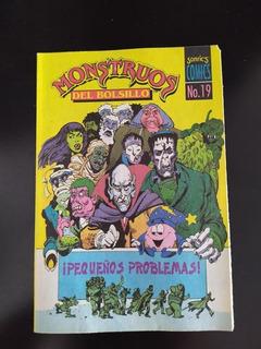 Comic Monstruos De Bolsillo Sonrics # 19 Vintage México